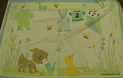 (Ethan Michael by Sheri Berry Designs crib quilt flannel panel)