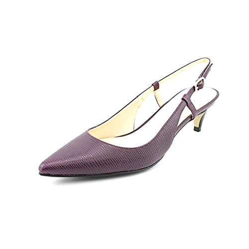 Cole Haan Sling - Cole Haan Juliana Low Sling 45 Women's Slingback Heel (7.5 B(M) US, Nightshed Lizard)
