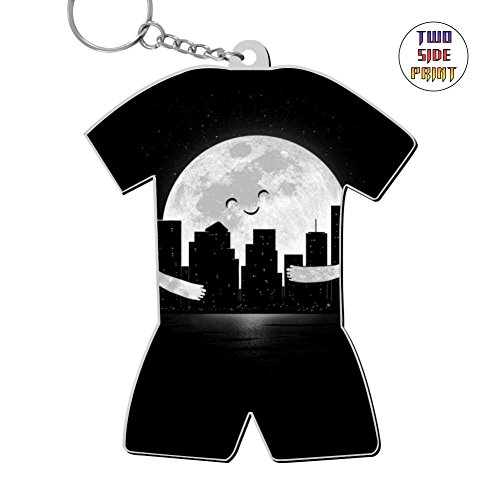 Cool Keychain Goodnight Keyring World Cup Polo Shirt Logo Key Ring Key Fob Alloy Nice Gift ()
