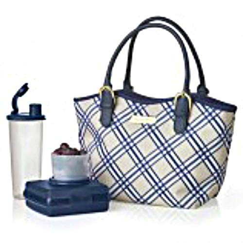 Tupperware Lunch Bag Set Posh Plaid