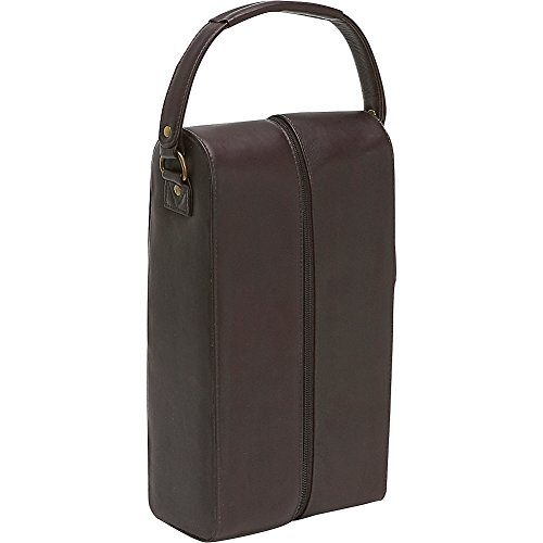 Le Donne Leather Two Bottle Wine Tote Color: ()