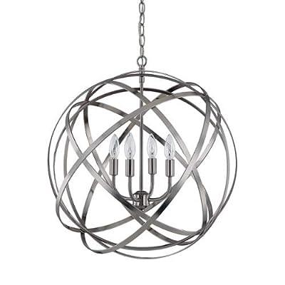 Capital Lighting 4234 Axis 4 Light Full Sized Globe Pendant,