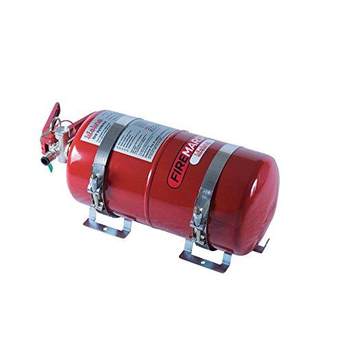 Lifeline USA 4.0L Foam Auto Racing Fire Bottle Extinguisher System Zero 2000