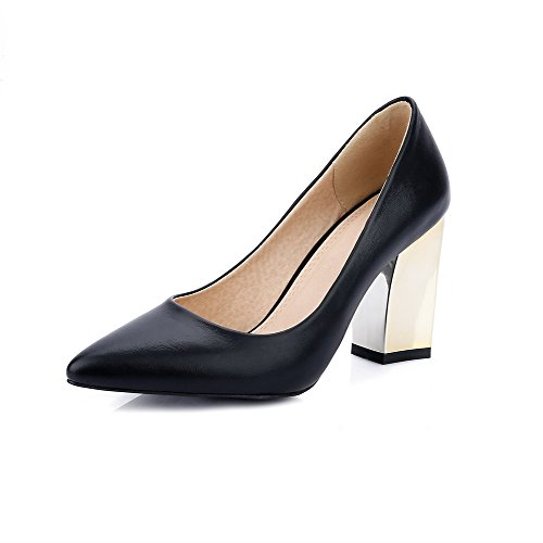 voguezone009-womens-high-heels-solid-pull-on-pointed-closed-toe-pumps-shoes-black-35