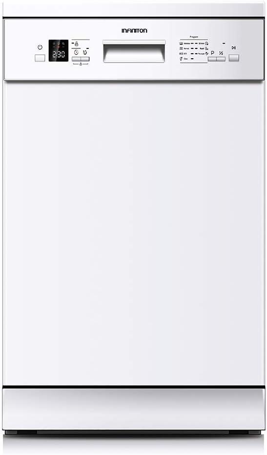 LAVAVAJILLAS ESTRECHO DIW-4510W INFINITON (A++, Display LED, Ancho 45cm, Control Electronico, Independiente) BLANCO