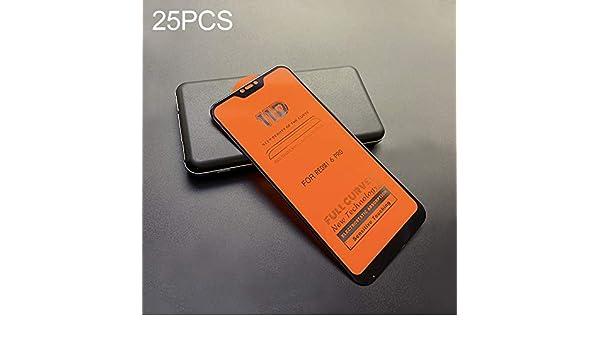 ZENGMING Tempered Glass Film Screen Protector 25 PCS 11D Full Screen Full Glue Anti-Fingerprint Tempered Glass Film for Xiaomi Redmi K20 K20 Pro Anti-Scratch
