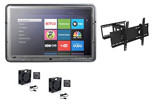 - The TV Shield 50-60 Kit with Two Fans and Full Motion Mount