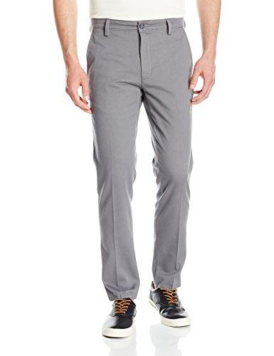Dockers Men's Slim Tapered Easy Khaki Pants, Burma Grey (Stretch), 36W x 34L Dockers Flat Front Khakis