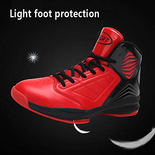 Botas Baloncesto Las Resistentes Blue Zapatos Transpirables Yszdm Al Zapatillas Transpirables Hombre Amortiguan 45 Que De Antideslizantes Y red Desgaste Altas Para qO0Efw