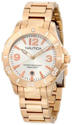 Nautica Men's N20100M Bfd 101 Dive Style Date Midsize Watch