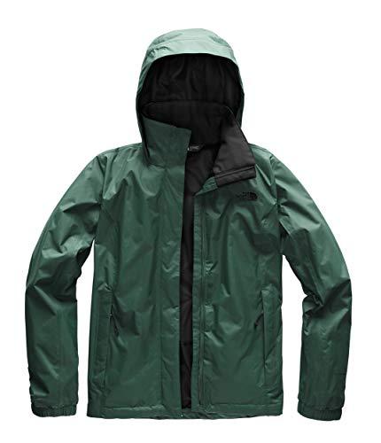 Black Travel Jacket (The North Face Women's Resolve 2 Jacket - Botanical Garden Green & TNF Black - XXL)