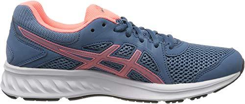 ASICS Women's Grey Floss/Sun Coral Footwear-5 UK (38 EU) (7 US) (1012A151) Price & Reviews