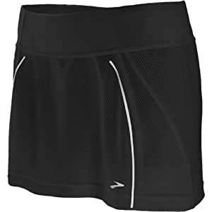 Brooks Women's PR Mesh Skort, Black, X-Small