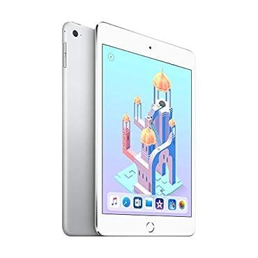 Apple iPad mini 4 (Wi-Fi + Cellular, 128GB) Silver