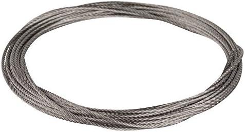 Edelstahl Leader Wire super weich Angeln Drahtseile TOPmountain Fishing Stee Draht Nylon beschichtet