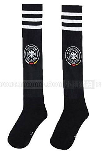 Germany National Soccer Team Socks for Kids/youth (Black (Away)) (Halloween Germany)