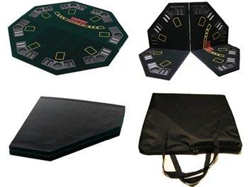 Poker 4-fach faltbare Qualitäts-Pokertischauflage