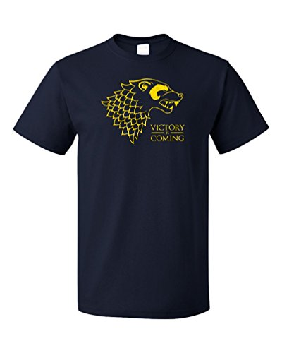 VICTORY IS COMING Adult Unisex T-shirt / Ann Arbor Football Fan Tee