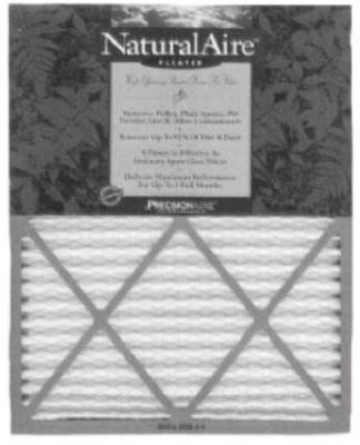 16x24x1Pleat Air Filter by NaturalAire