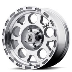 XD Series By KMC Wheels Enduro Race Machined W/ No Clear Coat - Enduro 15X7 5X120.65 Machined (-6 Mm) - XD12257034X06N