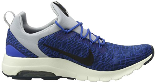Nike Air Max Motion Racer, Zapatillas Para Hombre, Azul (Blue Jay/Black-Armory Navy-Wolf Grey-Sail), 40 EU