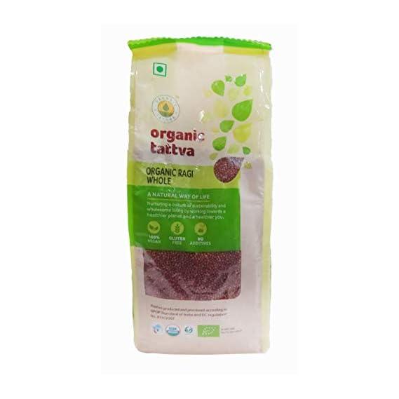 Organic Tattva Ragi Whole, 500g