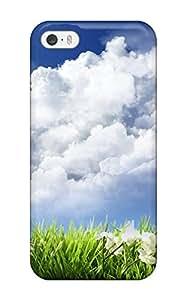 Hot Design Premium HaUmZaB12819rPVkt Tpu Case Cover Iphone 5/5s Protection Case(flower S )