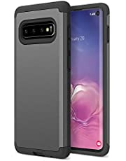 Trianium Protanium Case Designed for Galaxy S10 with GXD Impact Gel Cushion/PowerShare Compatible/Reinforced Hard Bumper Frame [Premium Protection] Heavy Duty Covers for Samsung Galaxy S 10 (2019)