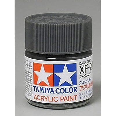 Tamiya America, Inc Acrylic XF24, Flat Dark Gray, TAM81324: Toys & Games