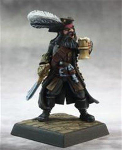 Pathfinder Miniatures: Captain Kerdak Bonefist