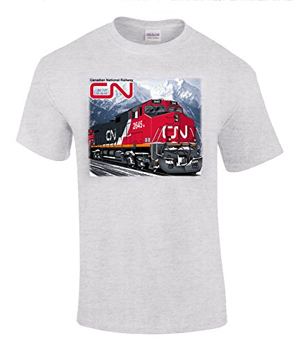 Canadian National C44-9W T-Shirt Adult X-Large [75]