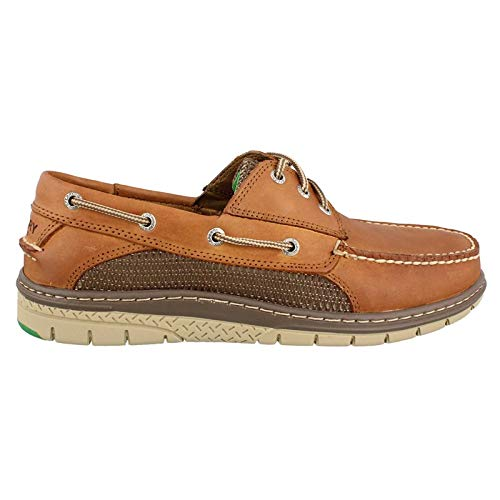 Sperry Men's Billfish Ultralite 3 Eye Slip On Loafer, Dark Tan, 9 M US