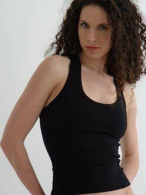 Débardeur fitness et running Anita Classic noir - Margarita