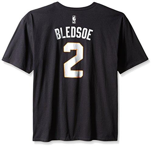 - adidas NBA Phoenix Suns Eric Bledsoe #2 Men's Game Time Feature Short Sleeve Tee, 4X, Black