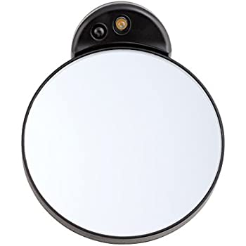 Amazon Com Tweezerman Ltd 10x Lighted Mirror Personal