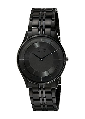 Citizen Men's AR3015-53E Eco-Drive Stiletto Black Dress Watch ()
