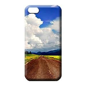 iphone 6plus 6p mobile phone back case Plastic Ultra skin sky blue air white cloud