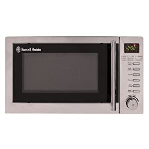 Russell Hobbs 20L Digital 800w Grill Microwave Stainless Steel