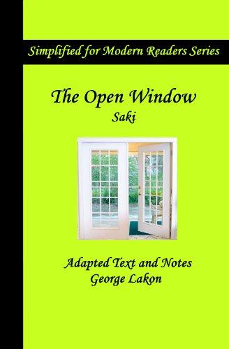 The Open Window: Simplified for Modern Readers (Simplified for Modern Readers Series) (English Edition)