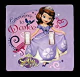 Sofia First Disney Learn to Dance Light Switch Cover And/or Outlet Buy 3 or More and Get 10% Off (2x Toggle)
