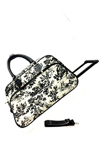 JChronicles 21 inch Carry On/ Rolling Duffle Bag (Country Side)