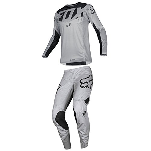 Fox Racing 2019 360 KILA Jersey and Pants Combo Offroad Gear Set Adult Mens Gray XXL Jersey/Pants 38W 360 Off Road Pants