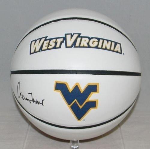 cbc2afc3c Jerry West West Virginia Mountaineers Jerseys at Amazon.com. Amazon.com. Jerry  West Autographed West Virginia Mountaineers Logo Basketball Signed - JSA ...