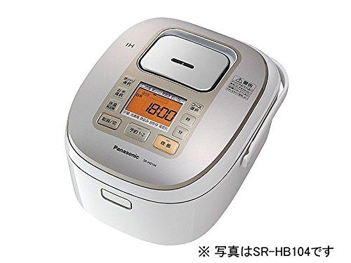 パナソニック 1升 炊飯器 IH式 ホワイト SR-HB184-W 1升 ホワイト B00L8XB80O