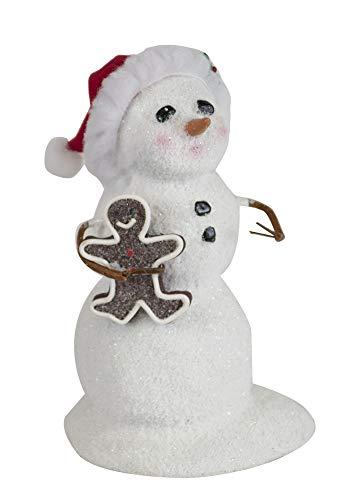 Byers' Choice Snowman w/Gingerbread #SN2191 (New 2019)