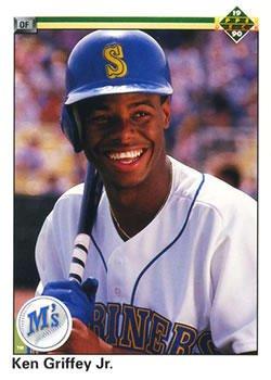 Amazoncom Ken Griffey Jr 1990 Upper Deck Baseball Card