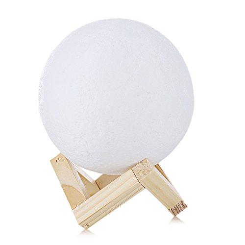 VT BigHome Rechargeable 3D Print Moon Lamp 2
