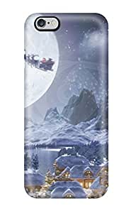 New Arrival Case Cover With ZvgKZuh3352hqhTF Design For Iphone 6 Plus- Attractive Christmas Animation