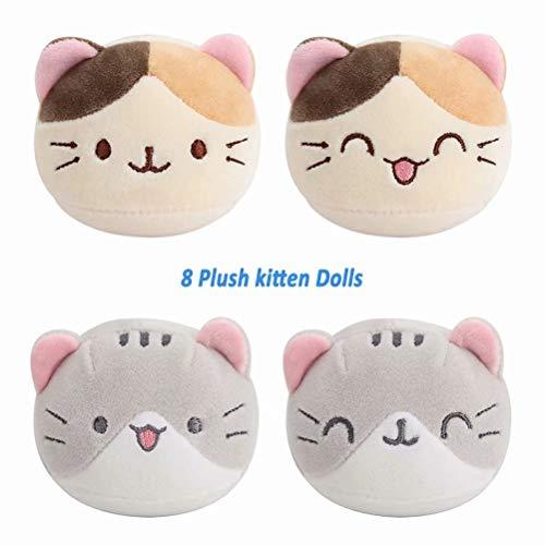 ChuiRui Kawaii Plush Food Snack Toys Plush Pillow A Bag of 8pcs Snack Toys Cute Stuffed Toys Gift for Kids