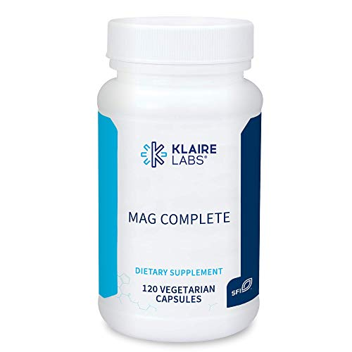 Klaire Labs Mag Complete – Premium Magnesium Complex with Four Bioavailable Forms of Magnesium – Magnesium Supplement…
